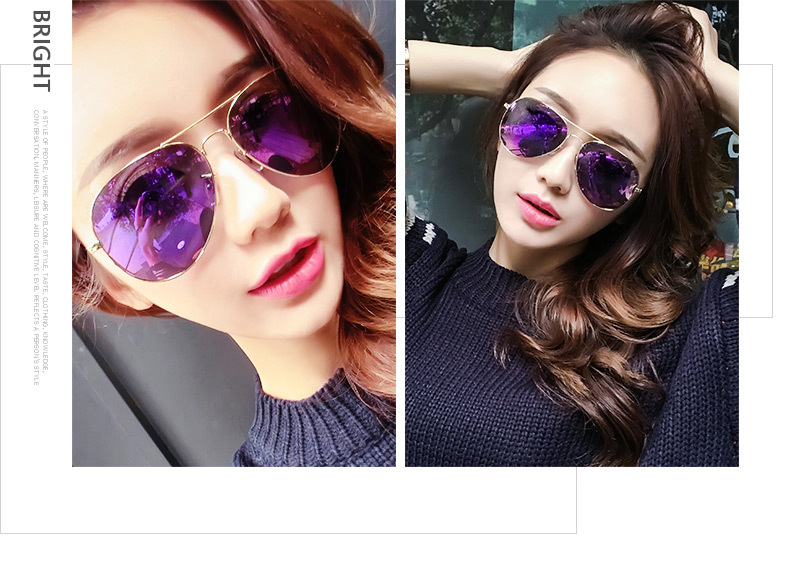 ASUOP2017 new men and women sunglasses pilots glasses high-end brand popular sun glasses goggles UV400 sunglasses sunglasses (4)