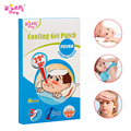 Drop Ship 6 Pieces/Box ifory Ice Cooling Patch Natural Headache Stress Pain Relief Pad Chinese Cooling Fever Plaster Herbal Gel