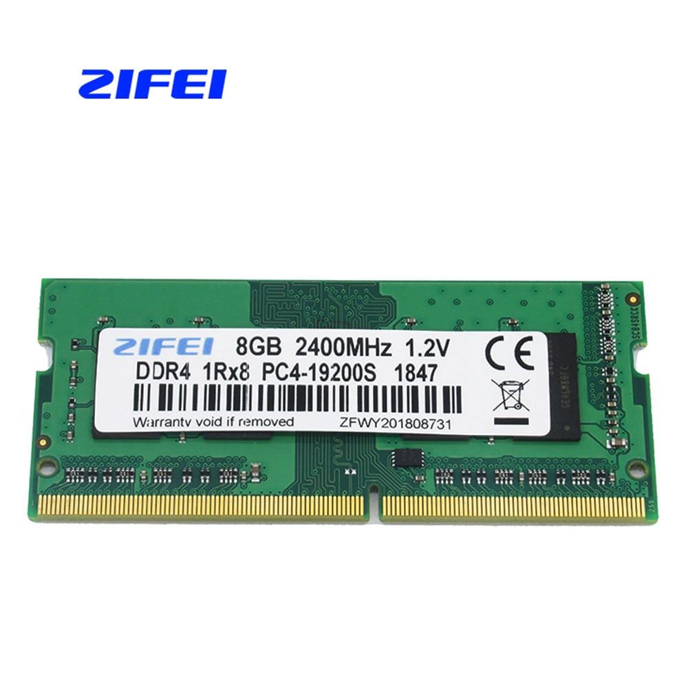 ZIFEI DDR4 8GB 4GB 16GB 2133 2400 MHz so dimm SDRAM laptop Memory RAM