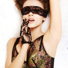 Sexy Black Lace Blindfold