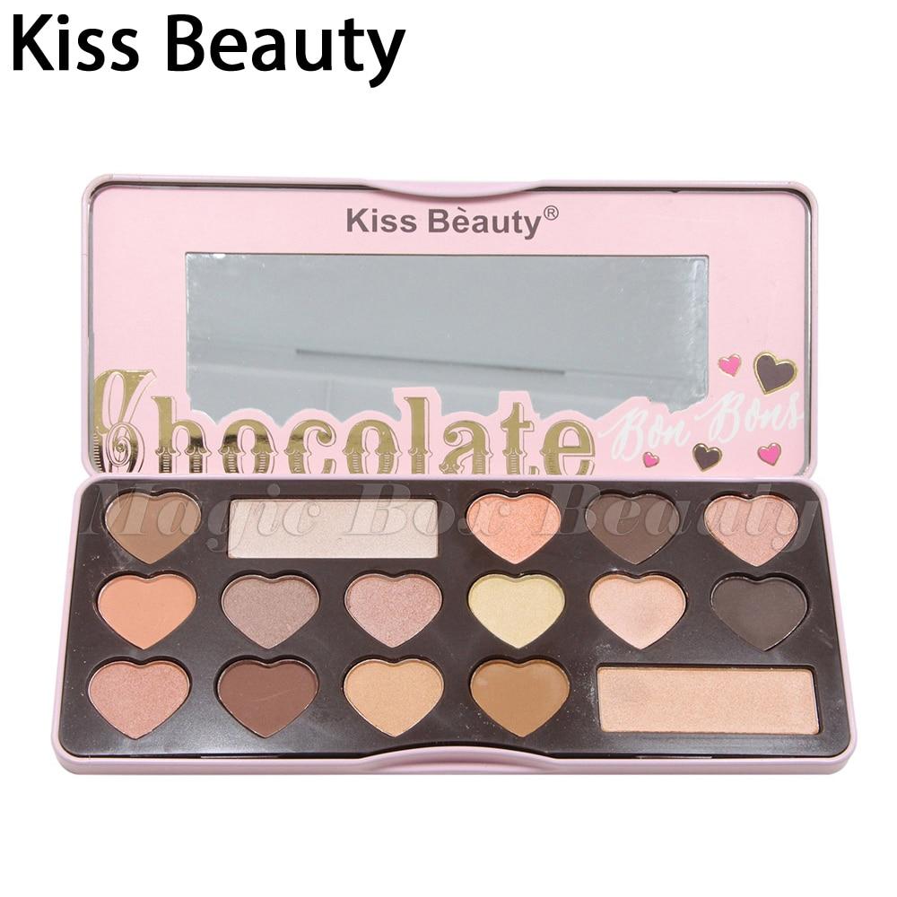 Eyeshadow Pallete Kiss Beauty Brand Faced love flush blush palette hoola Eyeshadow Palette Matte set nude
