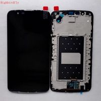 For Lg K10 K420N K410 Lcd Screen Display with Touch Glass Digitizer Frame Full set Together Repair lcds