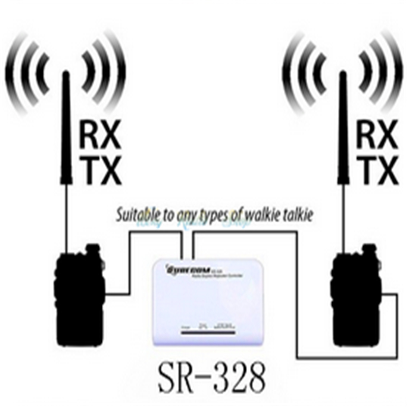 sr 328 duplex repeater controller with 2 pc radio cable 46 k for rh aliexpress com
