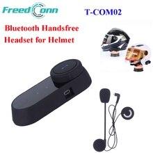 Freedconn T-COM02 Impermeable Motocicleta Casco Auricular Bluetooth Inalámbrico Auriculares Casco de La Motocicleta Auriculares Manos Libres