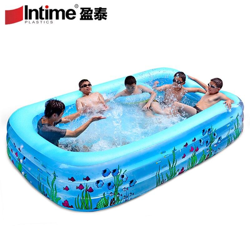 31 m piscina gonfiabile bambino vasca da bagno per adulti ultralarge ispessimento piscina oceano piscina di