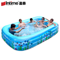 3.1m Swimming Pool Inflatable Child Adult Bathtub Ultralarge Thickening Swimming  Ocean Ball Pool Large Plastic