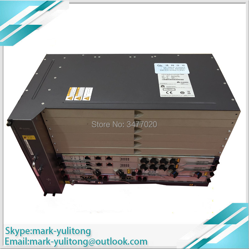 Brand New Original Hua Wei 19-inch Ma5683t Opitcal Line Terminal With Uplink Gicg X2cs 2 A Plastic Case Is Compartmentalized For Safe Storage Fiber Optic Equipments Communication Equipments