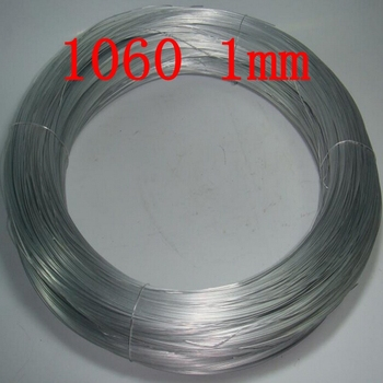 1mm 1060 Pure Aluminium Wire,Silver Aluminum Craft Wire Wrapping  Sculpture Floral Jewelry accessory wire