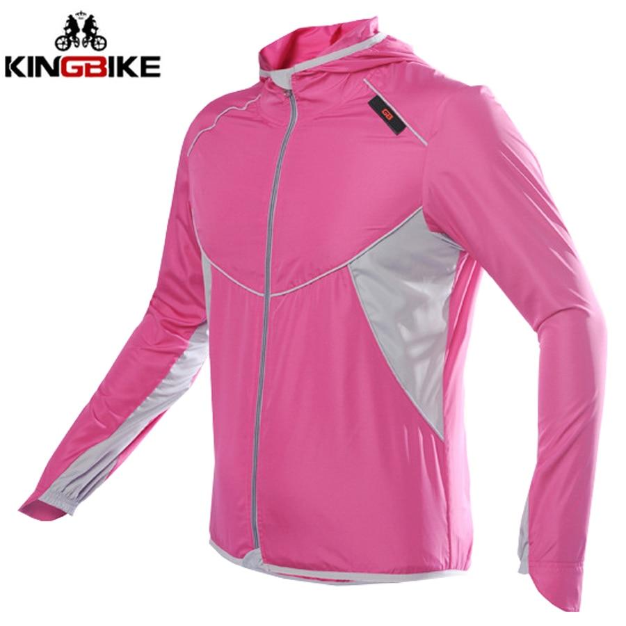 Cycling Jacket Jersey Bike-Riding Reflective Breathable KINGBIKE Windproof NEW Coat Light-Weight