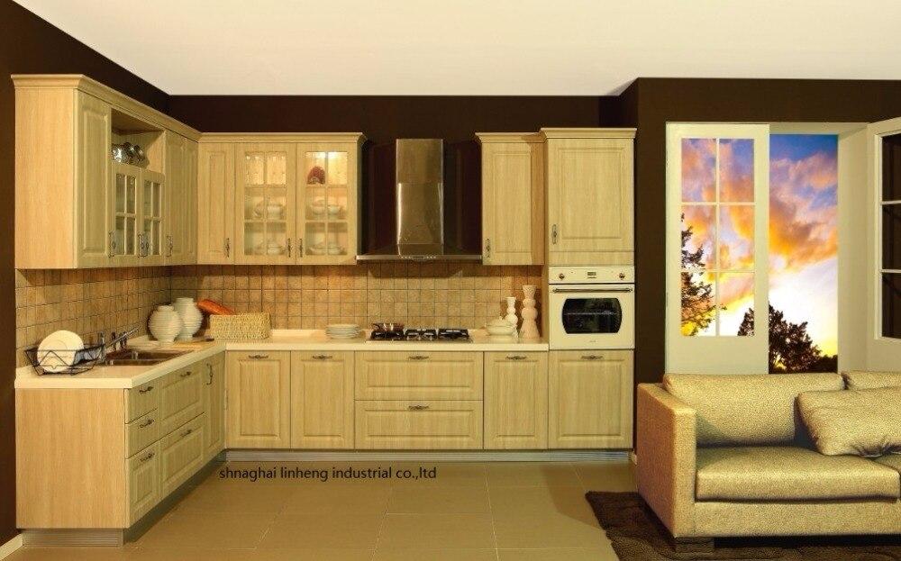 Pvc/винил кухонный шкаф (lh pv033)