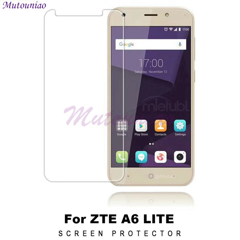 MuTouNiao 3PCS/lot Glass For ZTE Blade A6 Lite 9H Tempered Glass Screen Protector Anti-scratch Film For ZTE Blade A6 Lite