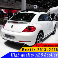 For Volkswagen beetle 2013 to 2018 spoiler High quality ABS material spoiler primer or white or black spoiler for beetle