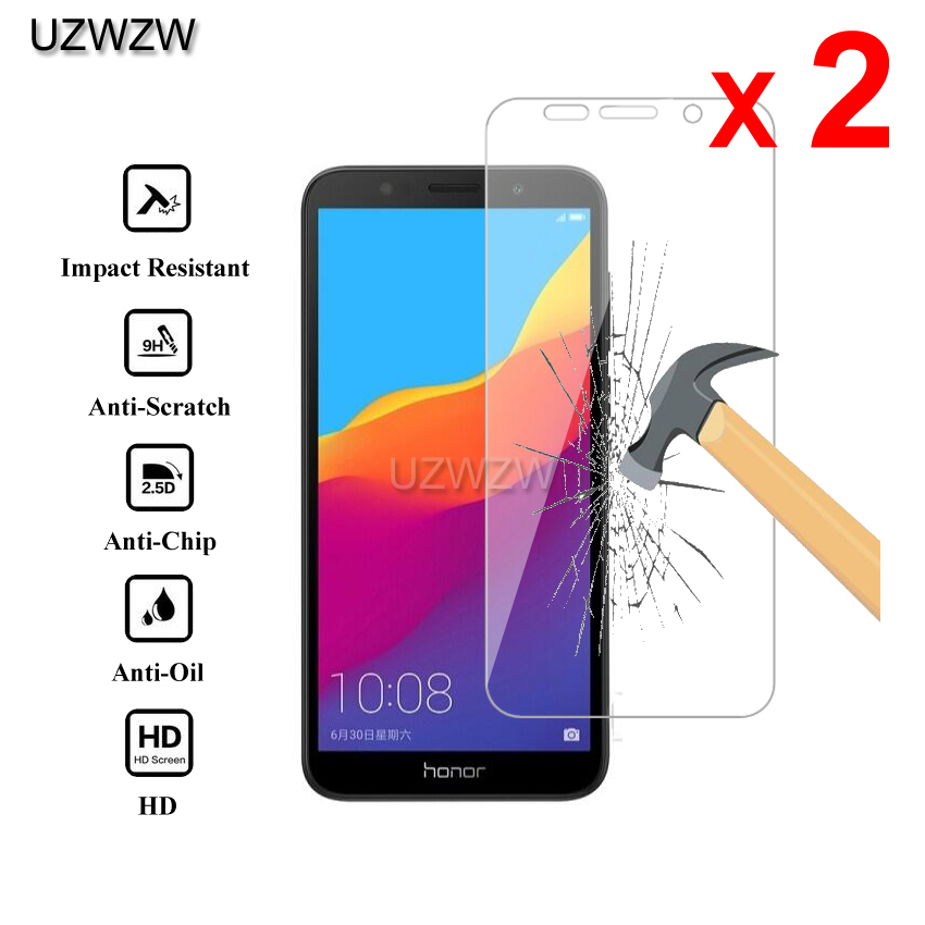 2pcs For Huawei Honor 7s Premium 2.5D 0.26mm Tempered Glass Screen Protector For Huawei Honor 7s Protective Glass Film