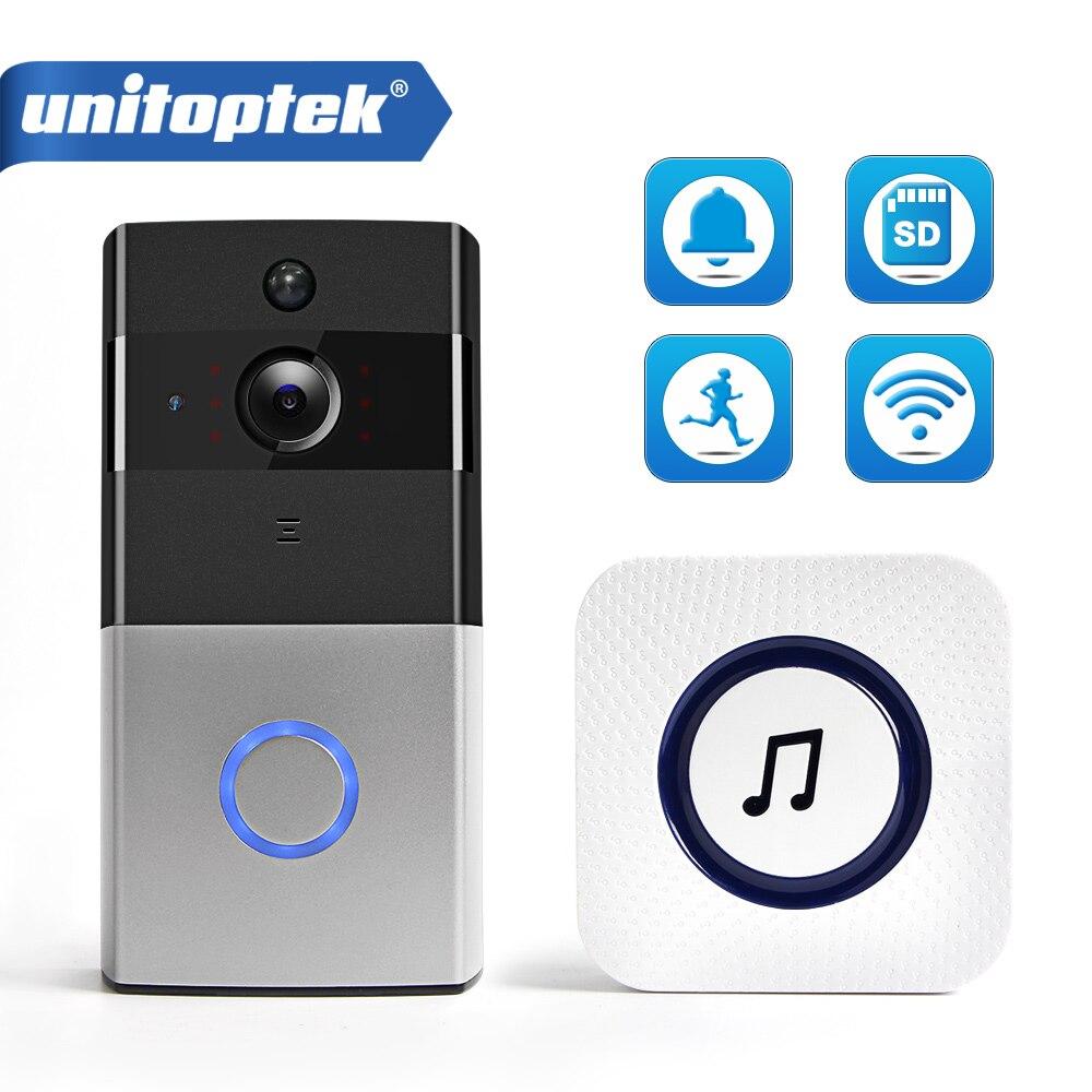 IP Video Intercom WI-FI Video Tür Telefon Tür Glocke WIFI Türklingel Kamera Für Wohnungen IR Alarm Wireless Security Kamera