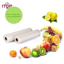 ITOP пищевая машина для запечатывания упаковки сумки, сумки для хранения 30*500 см в рулоне пищевая заставка сумки, кухонные процессоры оптом