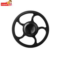 Arshiner Newest toy Fidget spinner Windmill Alloy Hand Spinner kids toy Finger Spinner Black Spinning Top