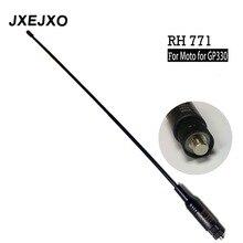 Antena dupla da faixa da longa distância RH 771 para a antena para motorolae para gp330 gp340 gp360 gp380 gp640 gp680 ht750 ht1250 rádio s017