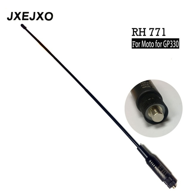 ארוך טווח Dual Band אנטנה RH 771 עבור אנטנה עבור motorolae עבור GP330 GP340 GP360 GP380 GP640 GP680 HT750 HT1250 רדיו s017