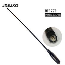 Lange Afstand Dual Band Antenne RH 771 Voor Antenne Voor Motorolae Voor GP330 GP340 GP360 GP380 GP640 GP680 HT750 HT1250 Radio s017