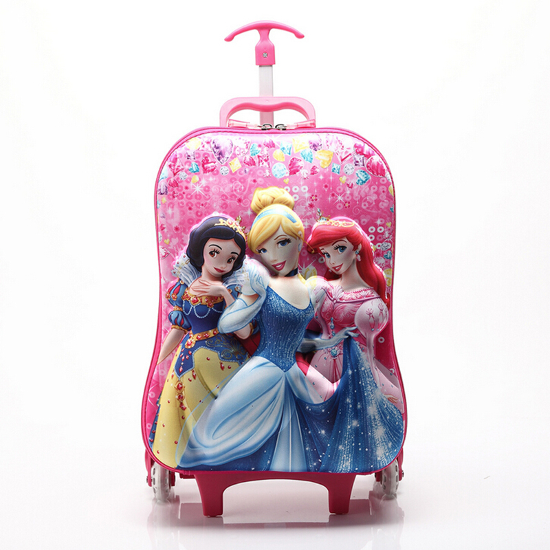 Bolsa Escolar Feminina Da Frozen : New school bags three wheels bag d stereo mochila