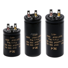 100+100uf,50+50uf,32+32uf,500V Audio Electrolytic Double Amplifier Capacitors Whosale&Dropship