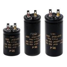 100 + 100uf,50 + 50uf,32 + 32uf,500V Audio kondensatory elektrolityczne z podwójnym wzmacniaczem Whosale i Dropship