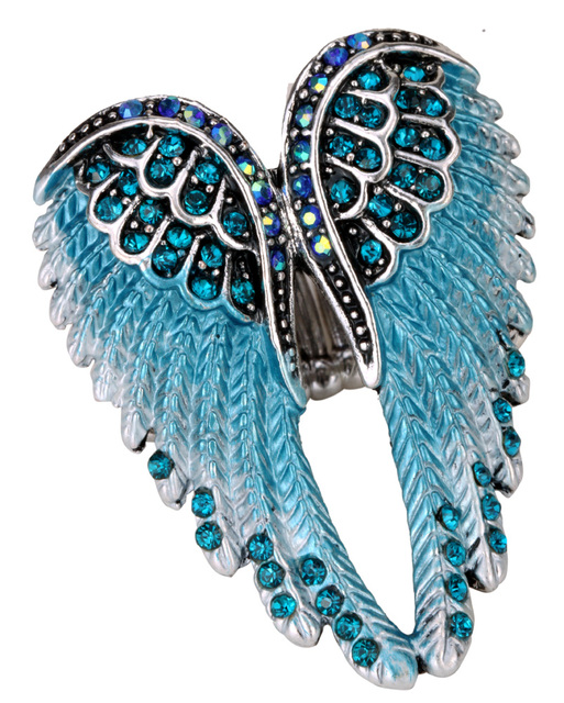 brixini.com - Angel Wings Stretch Ring