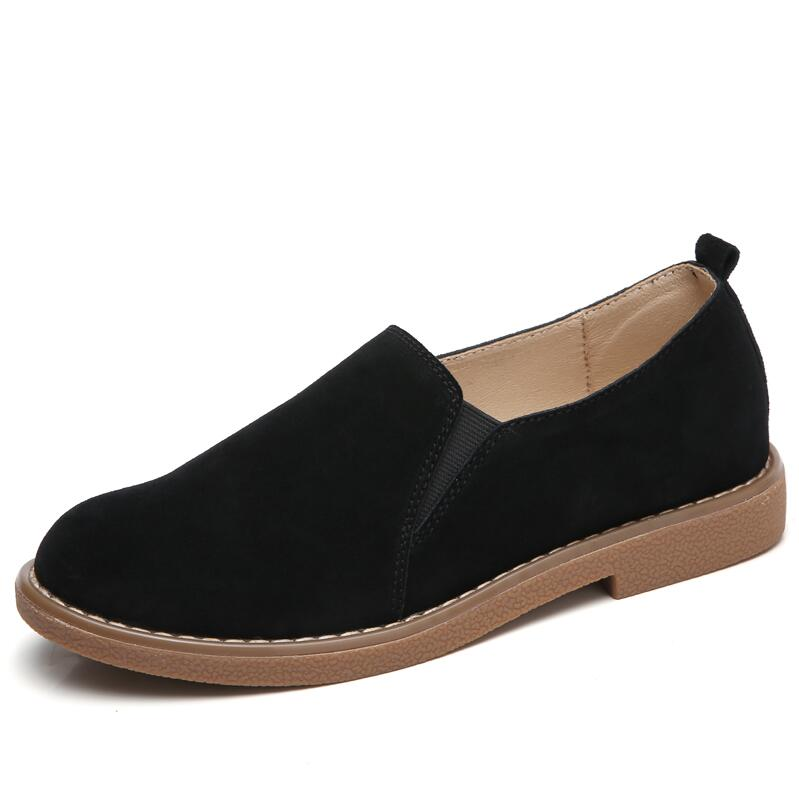 Yzhyxs Damens Slip On Schuhes For 2018 Spring Suede Cow Cow Suede Leder Flat Breathable Com 35c863