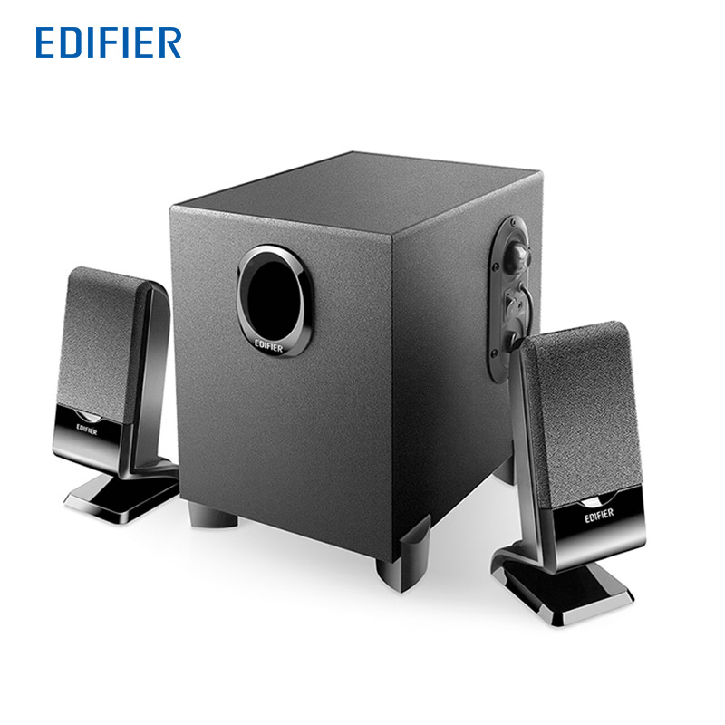 EDIFIER R101BT 2.1 Channel Bluetooth Multimedia Computer Speakers Support Magnetically Shielded High-quality With Subwoofer mx 606 2 1 channel usb computer subwoofer w multimedia speakers black
