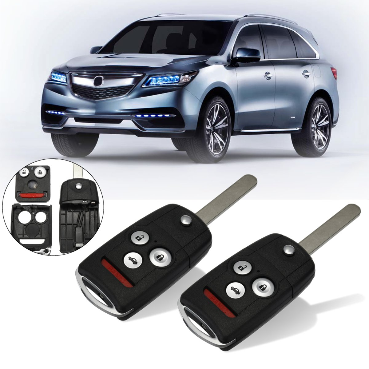 best acura mdx key shell ideas and get free shipping - 8j1dmif3