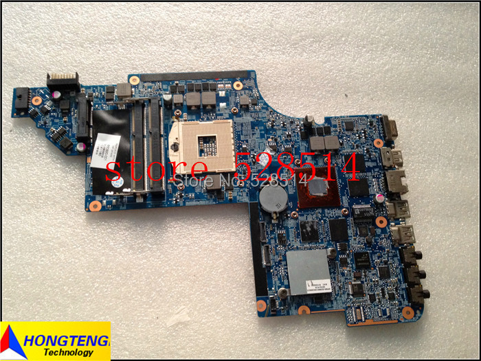 Original 650800-001 board for HP pavilion dv6 dv6t dv6-6000 laptop motherboard with hm65 chipset HD6770/2G 100% Test ok