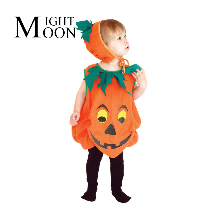 MOONIGHT Pumpkin Suit Pumpkin Dressed Up Clothing Halloween Costume Holiday Party Supplies Cosplay