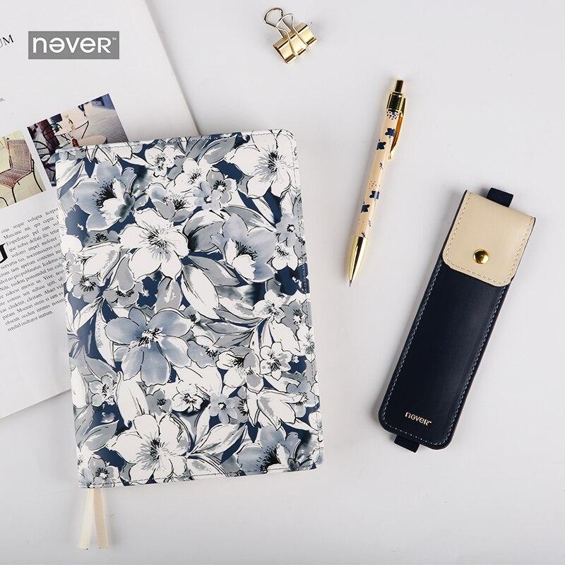 Agenda de planificateur de livre jamais de fleurs Agenda carnet de notes de Journal de balle cadeau d'affaires fournitures de papeterie accessoires scolaires