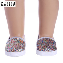 2017 fashion casual shoes, suitable for an 18-inch American doll, give your child your n1083 birthday present