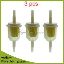 3x Fuel Filter For BRIGGS & STRATTON 493629 691035 John Deere AM116304 MA1008356 Kohler 25-050-03 25-050-22-S TORO 98021