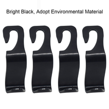 4 Pcs Stylist Car Seat Back Hooks Hangers to Mount Storage
