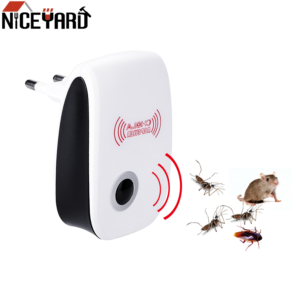 Contro Cockroach Mosquito-Repellent Insect Killer Rodent NICEYARD Electronic Indoor Eu/Us-Plug