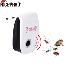 NICEYARD EU/US Plug Electronic Mosquito Repellent Indoor Cockroach Insect Killer Rodent Contro Ultrasonic Pest Repeller