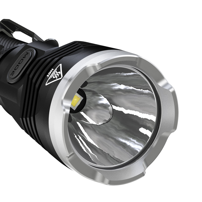 Discount Nitecore P16TAC 1000LM CREE XM L2 U3 LED Flashlight F1 Charger 18650 Rechargeable Battery Hunting Search Tactical Torch - 4
