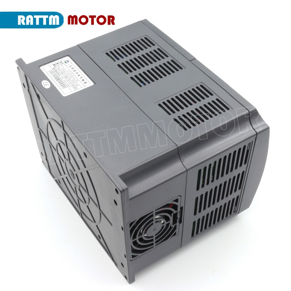 4KW 220V or 380V inverter VFD 3 phase Output Frequency Converter Adjustable Speed 400Hz 18A 9A Speed control in Inverters Converters from Home Improvement