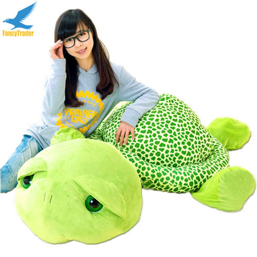 Fancytrader 59\'\' 150cm Lovely Stuffed Soft Giant Tortoise Turtle Toy, Free Shipping FT50059 (1)
