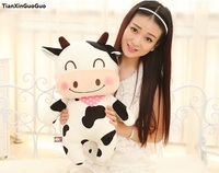 about 38cm cartoon cow plush toy soft doll throw pillow birthday gift s1200