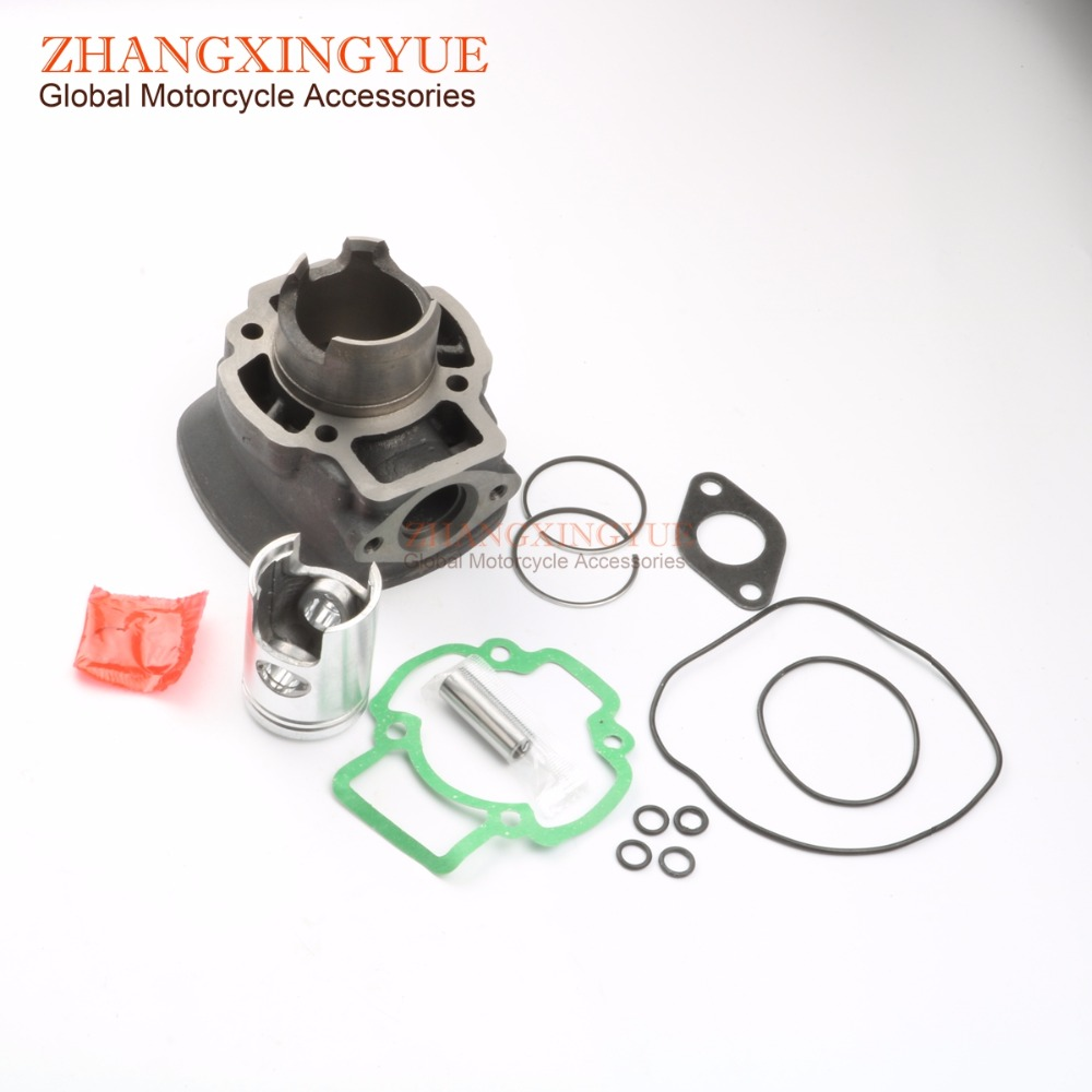 50cc Cylinder Kit for Piaggio Nrg Extreme 99 00 Nrg Rst Mc2 96 98 Zip Sp