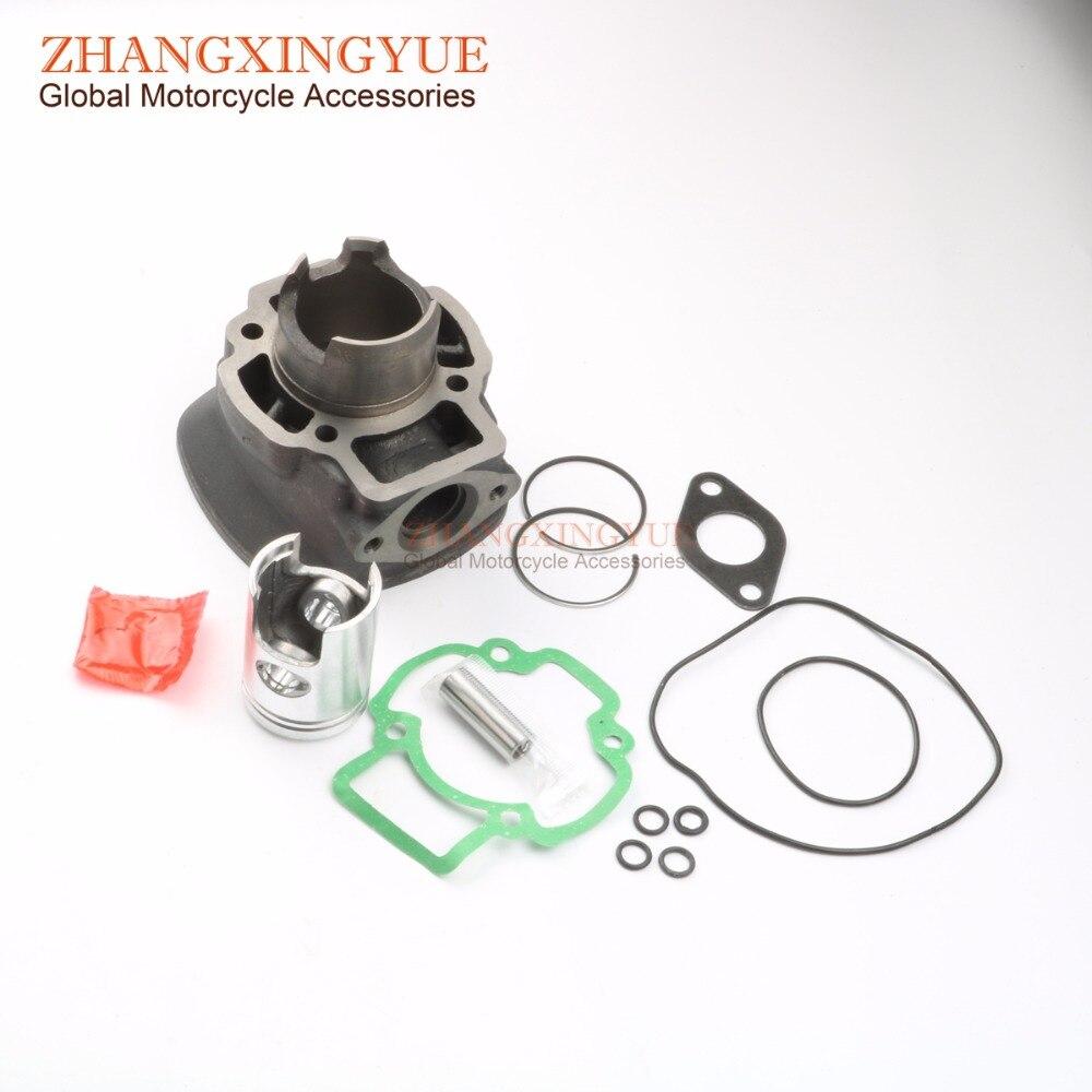 50cc Cylinder Kit for Piaggio Nrg Extreme 99 00 Nrg Rst Mc2 96 98 Zip Sp 96 00 50cc 40mm/12mm