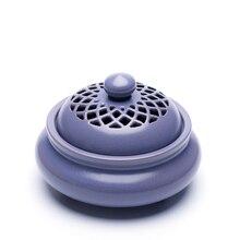 PINNY Large Ceramic Incense Holder 2 And 4 Hours Coil Burner Tea House Decoration Sandalwood Cone Censer Crafts