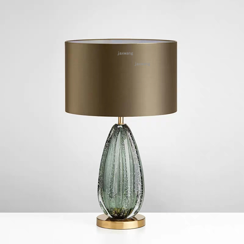 Home Deco Dark Green Gl Table Lamps