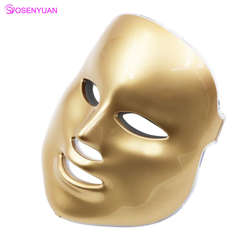 PDF LED Facial Mask Therapy 7 Colors Facial Mask LED Machine Photon Therapy Light Skin Care Wrinkle Acne Removal Face Beauty