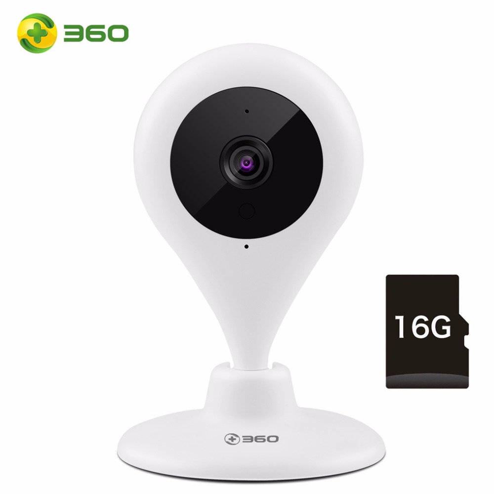 360 Home Camera 720P with 16G SD Card Mini Water Drop Smart IP Camera WiFi Security Motion Detection 2-way Audio Night Vision smart mini camera wifi support two way audio night vision sd card onvif motion detect camera with wifi for home security