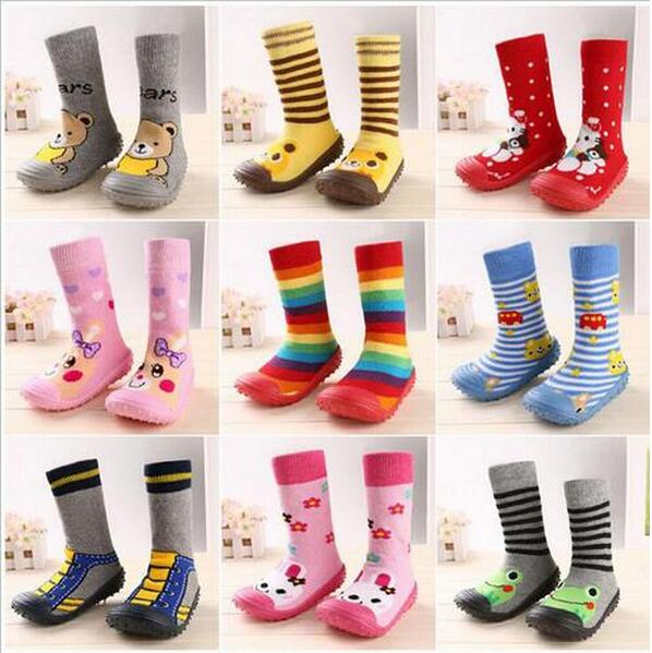 Brand Baby Girl And Boy Shoes Newborn Toddler Moccasins Attipas Same Design Anti-slip Footwear Breathable Kids Sock Boot