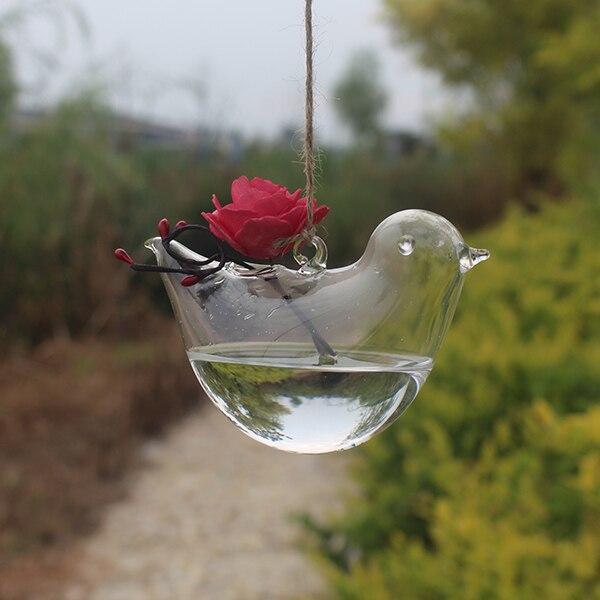 24 стиля стеклянная подвесная Ваза Бутылка Террариум гидропонный горшок Декор цветочные растения контейнер орнамент микро пейзаж DIY домашний декор - Цвет: 6.5x15m